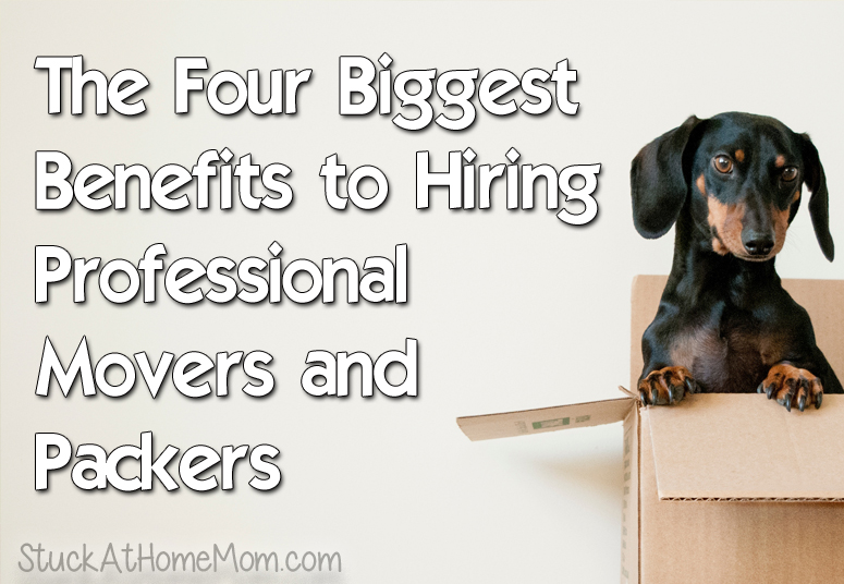 The Four Biggest Benefits to Hiring Professional Movers and Packers