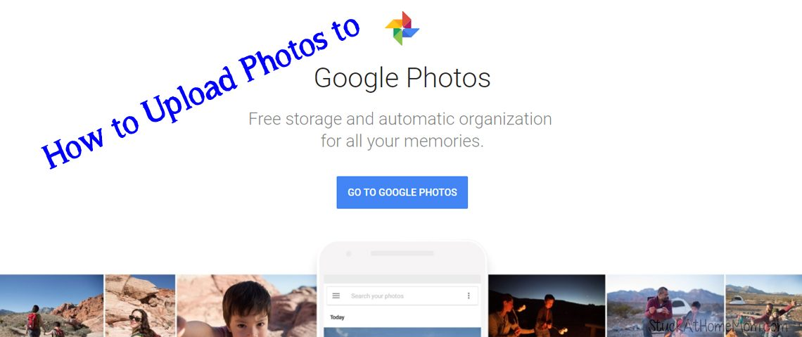 How To Upload Photos To Google Photo