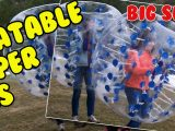 Inflatable Bumper Balls #HumanHamsterBall #BumperBall #BubbleBall #BubbleSoccer #ZorbBall #KnockerBall