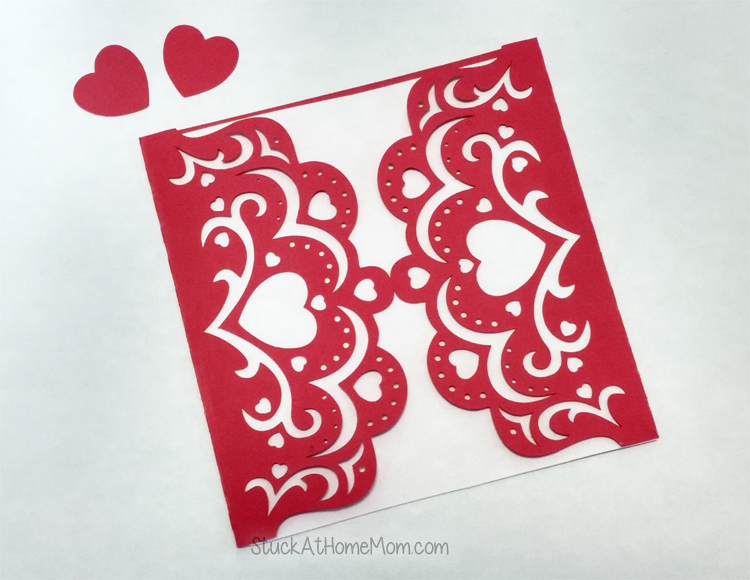 Special Occasion Card SVG Card Template Silhouette, Circut & SVG Cutters