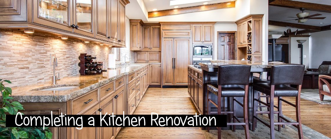 Completing a Kitchen Renovation