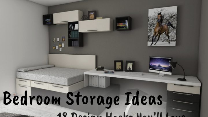 Bedroom Storage Ideas: 18 Design Hacks You'll Love