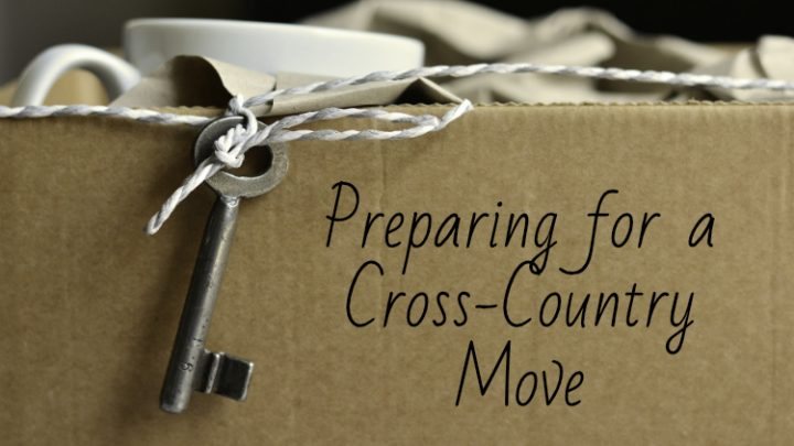 Preparing for a Cross-Country Move