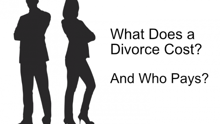What Does a Divorce Cost? And Who Pays?