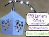 FREE SVG Heart Lantern for Silhouette & Cricut (SVG & .studio3)
