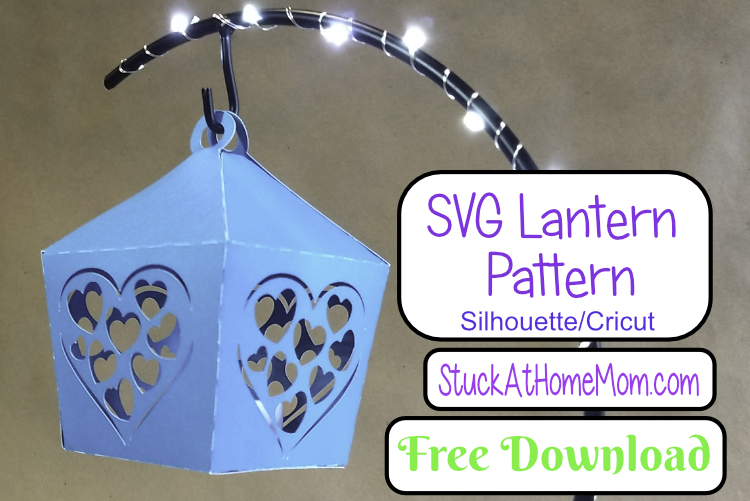 FREE SVG Heart Tealight Lantern for Silhouette & Cricut (SVG & .studio3)