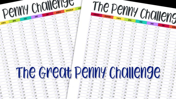 The Great Penny Challenge #PennyChallenge