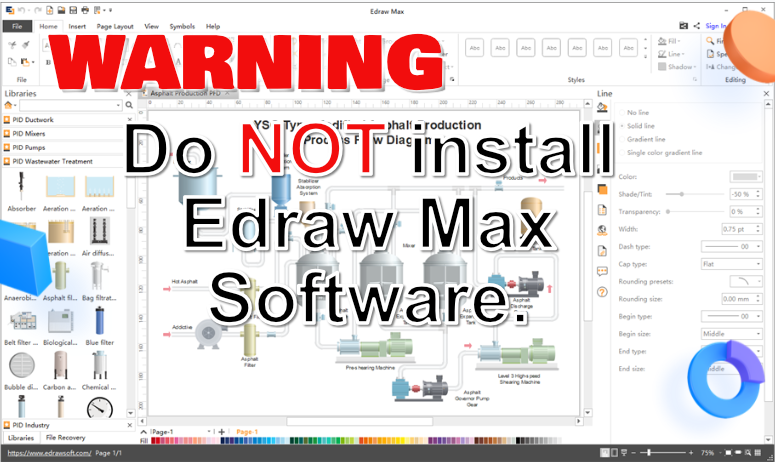 Do NOT Install Edraw Max Software #edraw #EdrawMax Edraw Software Review