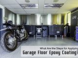 What Are the Steps for Applying Garage Floor Epoxy Coating?