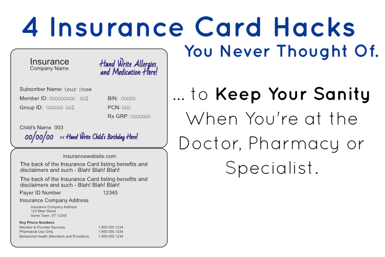 4 Insurance Card Hacks You Never Thought Of.