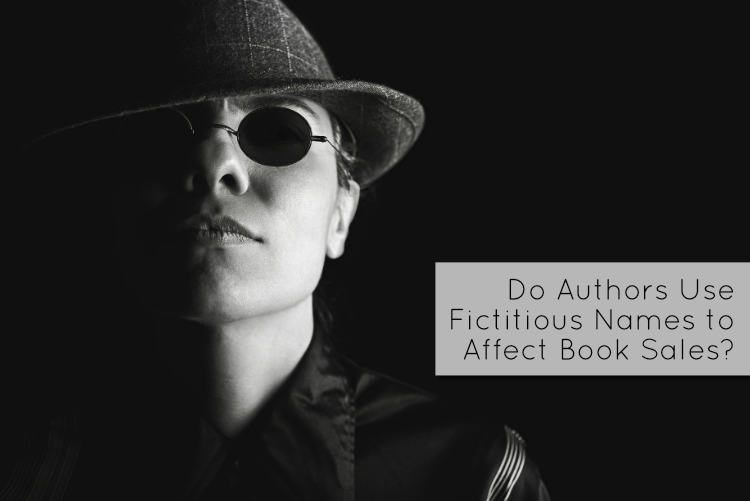 Do Authors Use Fictitious Names to Affect Book Sales?