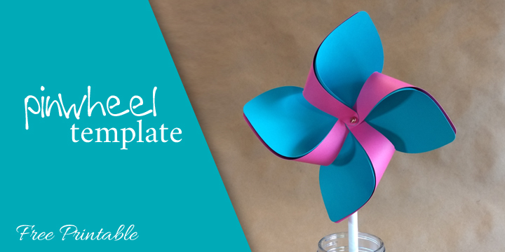FREE Spring Pinwheel Silhouette Cameo & Cricut .svg & .studio3