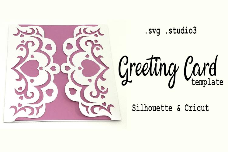 Pretty Cuttable Greeting Card .svg .studio3 #SilhouetteAmerica #SilhouetteCameo #SilhouetteCameo3 #Cricut #Cameo #greetingCard